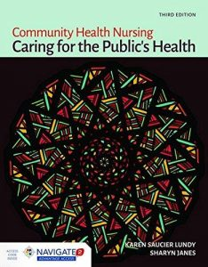 COMMUNITY HEALTH NURSING CARING FOR THE PUBLICS HEALTH COVER PAGE PICTURE