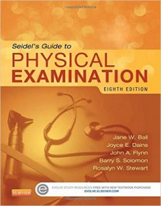 Seidel's Guide to Physical Examination Textbook