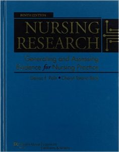 Nursing Research: Generating and Assessing Evidence for Nursing Practice Textbook
