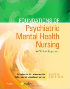 Foundations of Psychiatric Mental Health Nursing Textbook