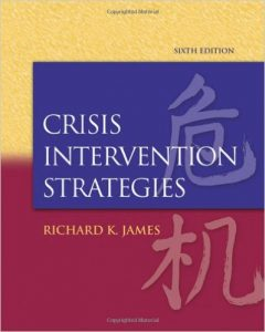 Crisis Intervention Strategies Textbook