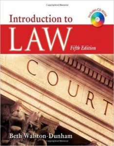 Introduction to Law Textbook