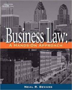Business Law: A Hands-On Approach Textbook