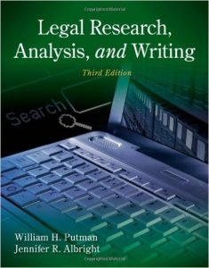 Legal Research, Analysis, and Writing Textbook