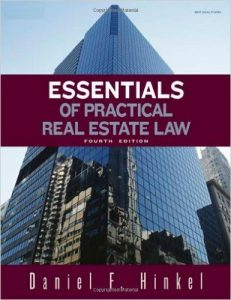 Essentials of Practical Real Estate Law Textbook