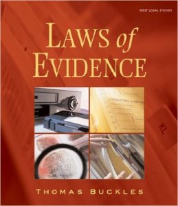 Laws of Evidence Textbook