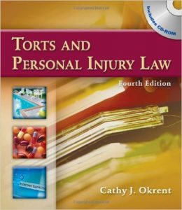 TORTS and Personal Injury Law Textbook