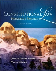 Constitutional Law: Principles & Practice Textbook