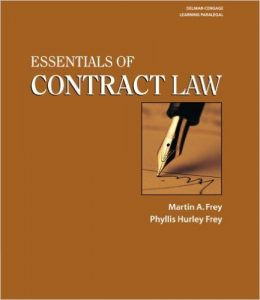 Essentials of Contract Law Textbook