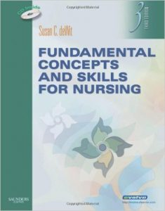 Fundamental Concepts and Skills for Nursing Textbook