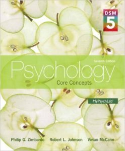 Psychology: Core Concepts Textbook