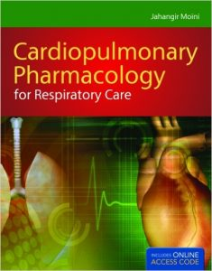 Cardiopulmonary Pharmacology for Respiratory Care textbook
