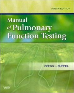 Manual of Pulmonary Function Testing Textbook