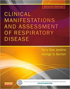 Clinical Manifestations and Assessment of Respiratory Disease Textbook