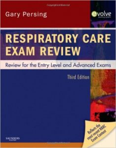 Respiratory Care Exam Review textbook