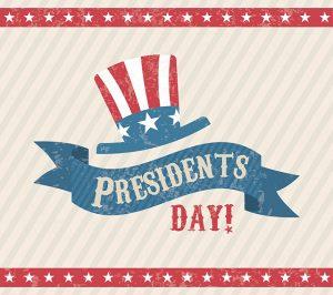Presidents day logo