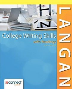 COLLEGE WRITING SKILLS WITH READINGS COVER PAGE PICTURE