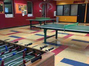 bucky dent park indoor game room in recreation building