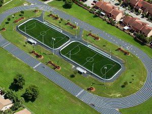 soccer field at goodlet soccer park