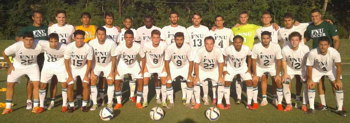 Men's Soccer team picture in oklahoma wesleyan university-first game of 2016