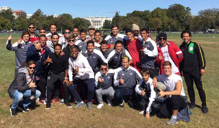 Men's Soccer Team at the White House