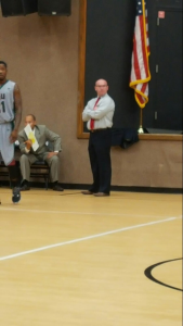 Head Men's Basketall Coach James Thatcher