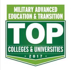 Military Advanced Education and Transition Top Colleges and Universities 2017 Logo