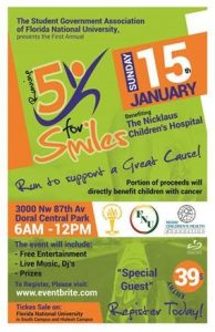 5K Running for Smiles Flyer