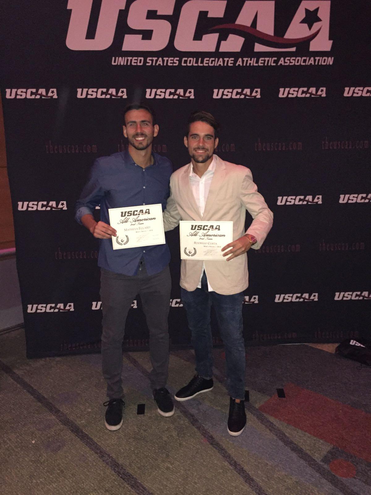 All American Award for Matheus and Rodrigo
