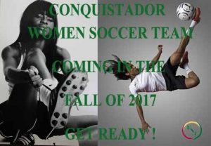 Women soccer is here