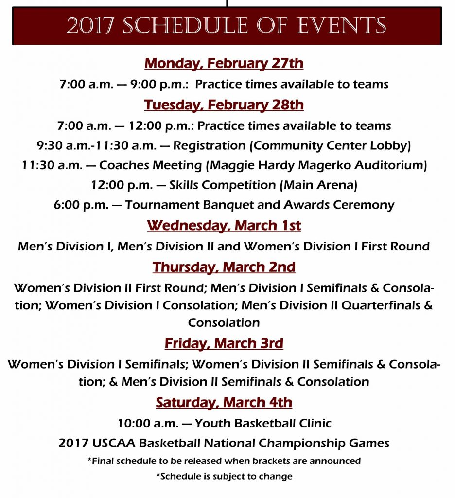 2017_bball_National championship schedule