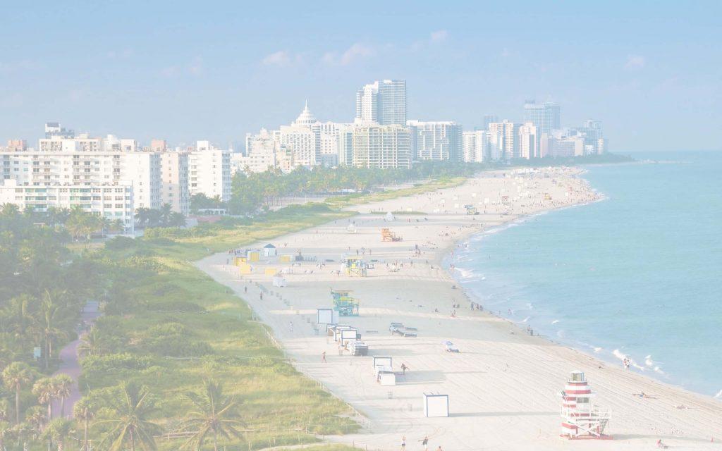 Miami Beach background