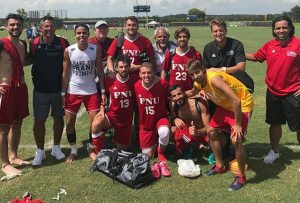 Men's Soccer Florida National vs Ave Maria Picture