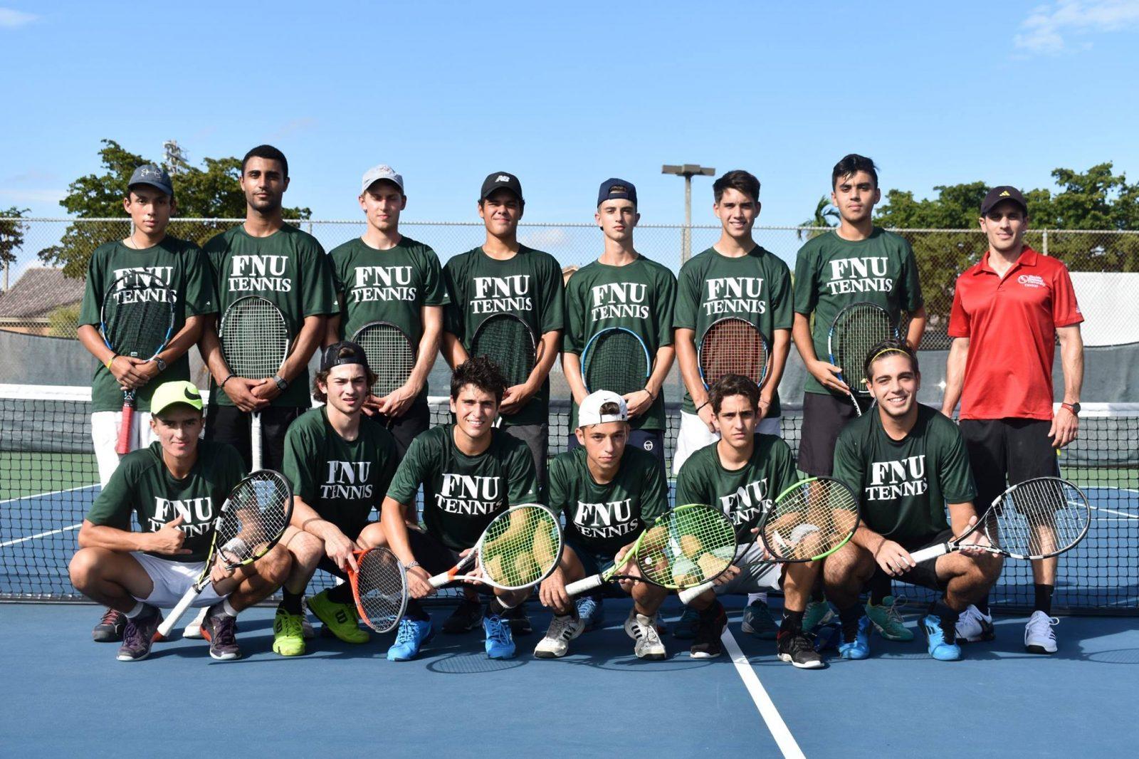 FNU Men's Tennis Team Picture