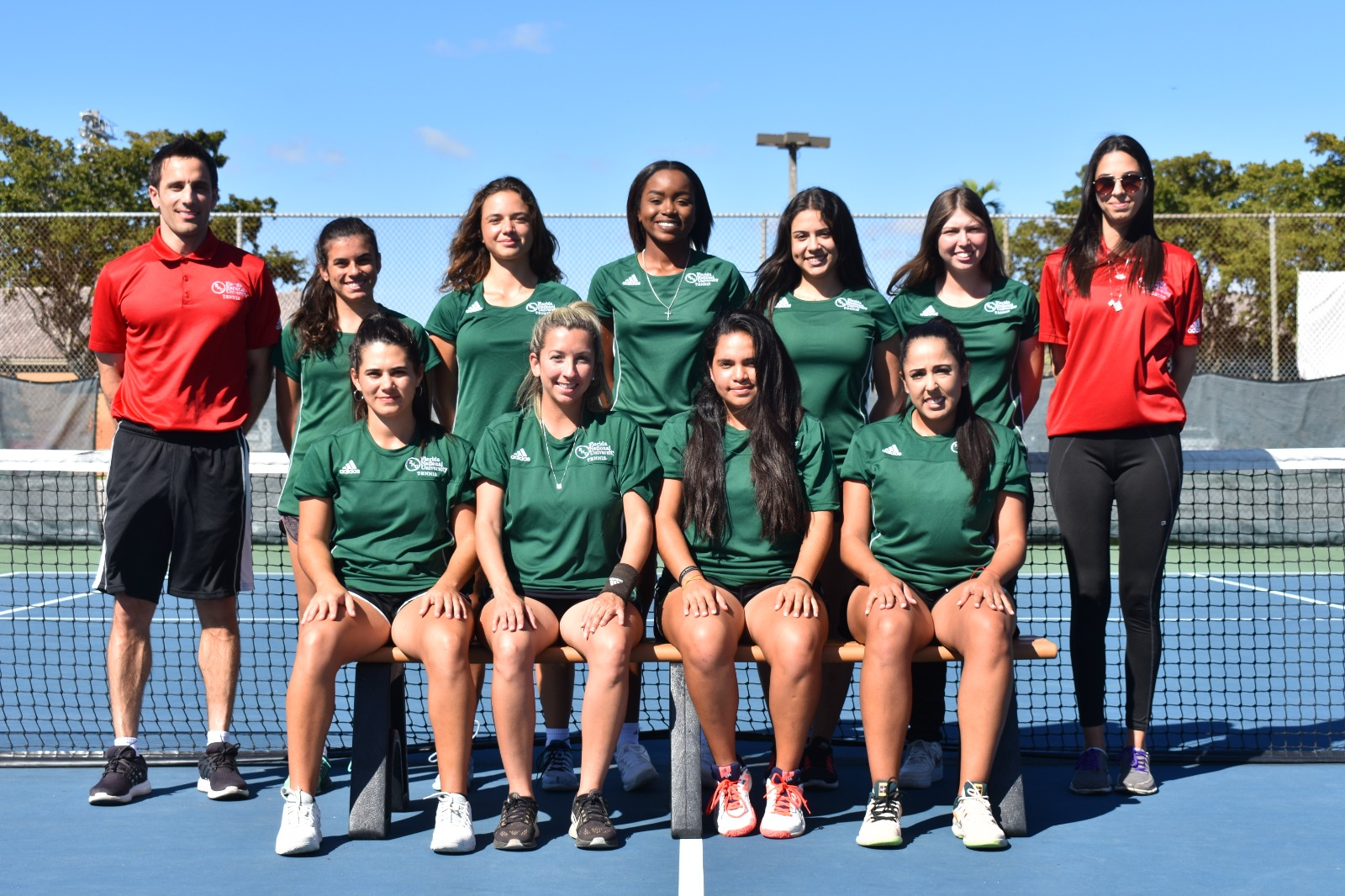Women's Tennis Team Picture