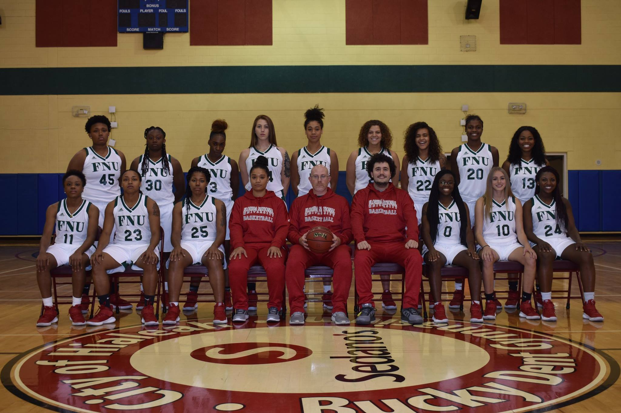 Women's Basketball Team Picture