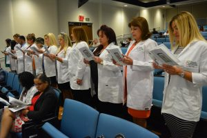 FNP Graduation - Reciting Pledge