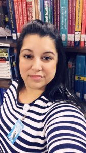 Jannette Lorie, South Campus Library Assistant at Florida National University