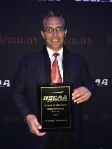 Fernando USCAA Coach of the Year