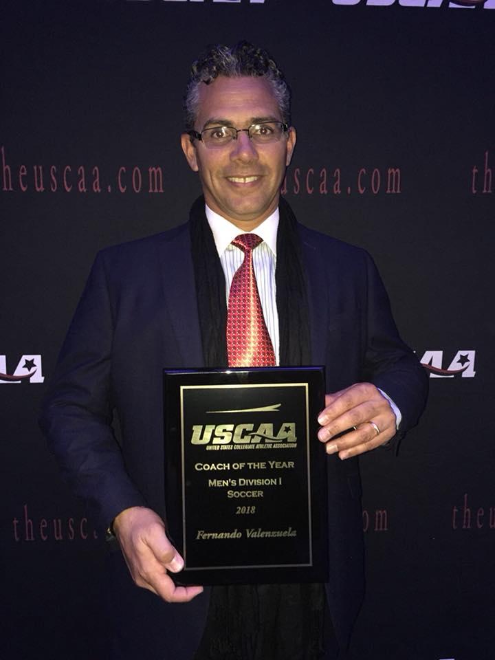 Fernando USCAA Coach of the Year