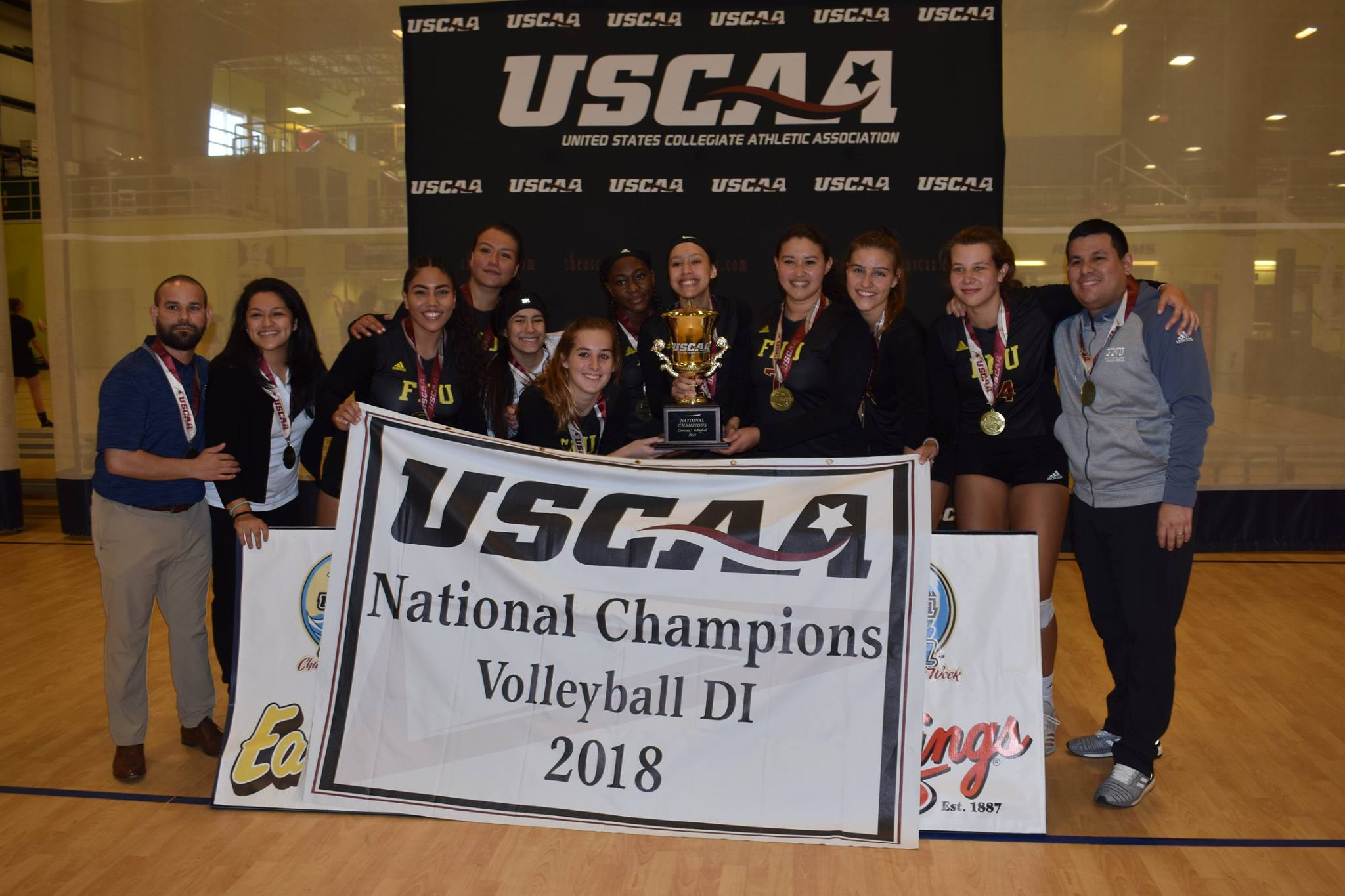 FNU national Volleyball Champions