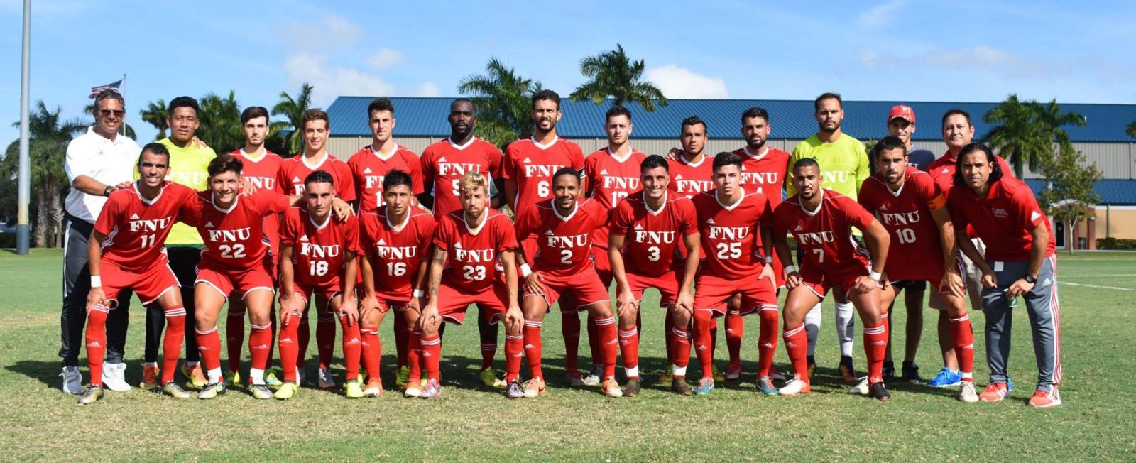FNU Men's Soccer Team Picture