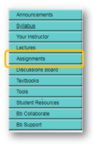 Bb Assignments Section