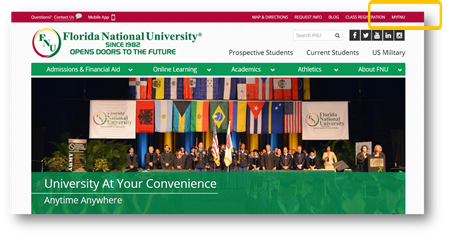 FNU Homepage - MyFNU