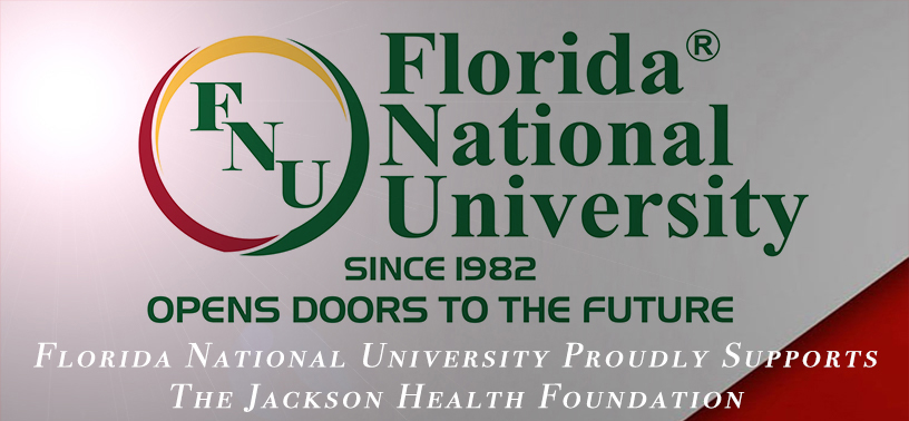 FNU Jackson Health Fundraiser Flyer