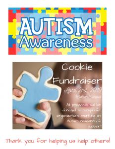 Autism Awareness Cookie Fundraiser