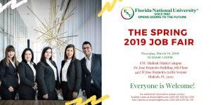Job Fair flyer Spring 2019