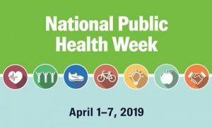 National Public Health Week Flyer