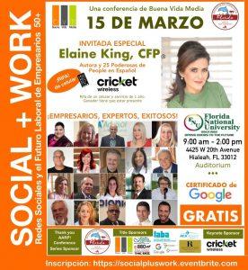 Social Media Seminar Flyer Social+Work