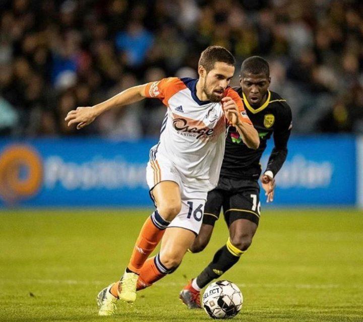 Rodrigo da Costa Former FNU Player playing for a professional soccer team